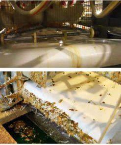 سیستم حمل فضولات به خارجاز سالن مرغداری قفس مرغ تخمگذار